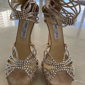 Sparkly authentic Jimmy Choo Sandals